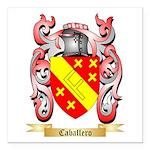 Caballero Square Car Magnet 3