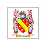 Caballero Square Sticker 3