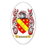 Caballero Sticker (Oval)