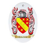 Caballero Ornament (Oval)