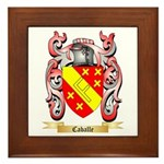 Caballe Framed Tile