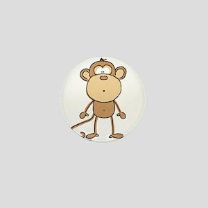 Oooh Monkey Mini Button