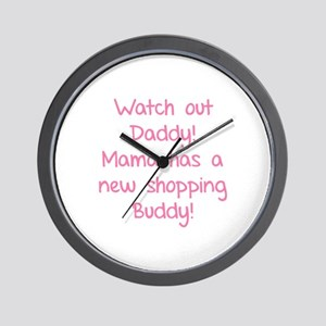 Watch Out Daddy! Wall Clock