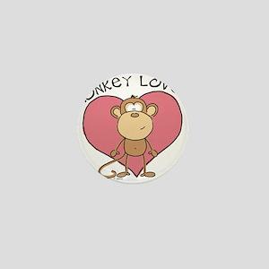 Monkey Love Mini Button