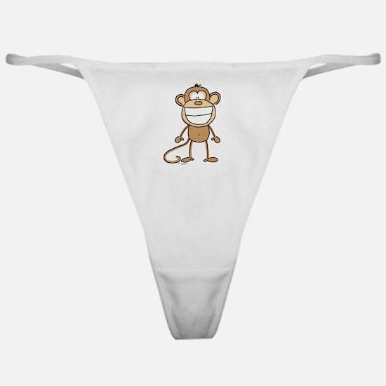 Big Monkey Grin Classic Thong