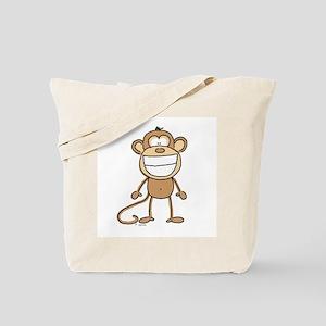 Big Monkey Grin Tote Bag