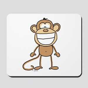 Big Monkey Grin Mousepad