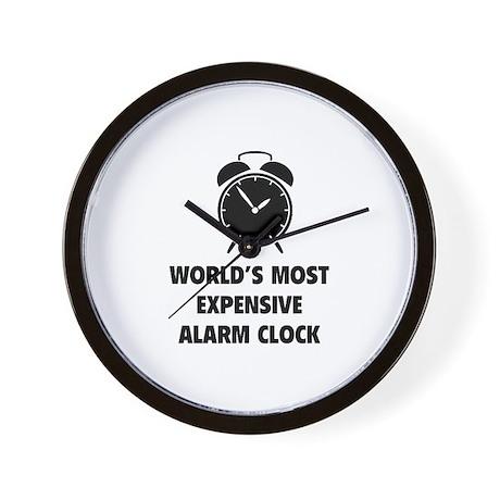 Charming Worldu0027s Most Expensive Alarm Clock Wall Clock