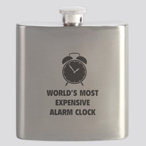 World's Most Expensive Alarm Clock Flask