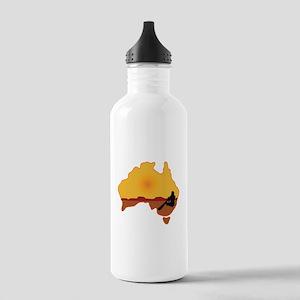Australia Aboriginal Stainless Water Bottle 1.0L