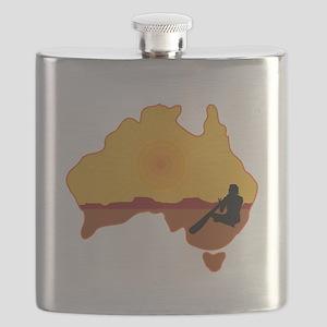 Australia Aboriginal Flask