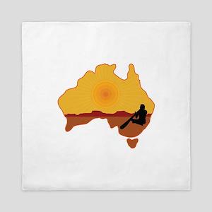 Australia Aboriginal Queen Duvet