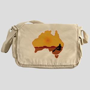 Australia Aboriginal Messenger Bag