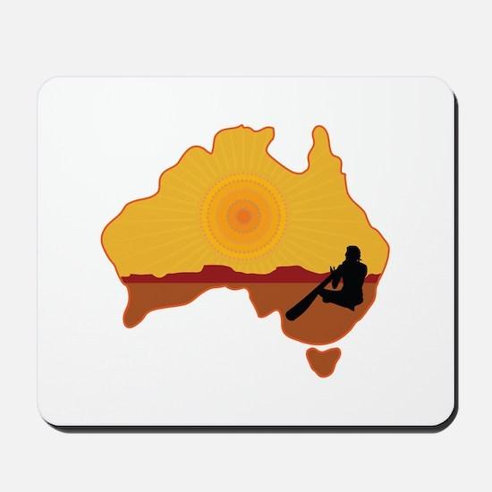 Australia Aboriginal Mousepad