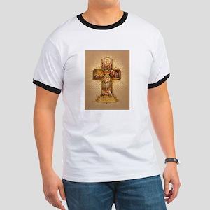 Easter Cross Ringer T