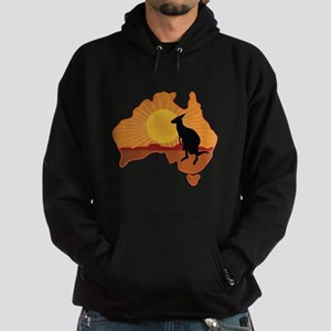 Australia Kangaroo Hoodie (dark)