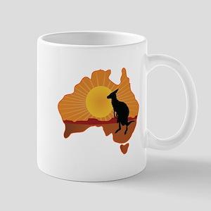 Australia Kangaroo Mug