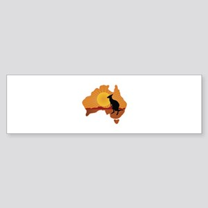 Australia Kangaroo Sticker (Bumper)