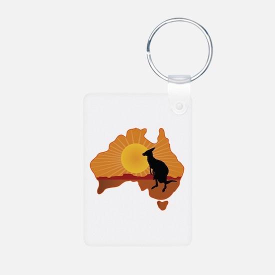 Australia Kangaroo Keychains