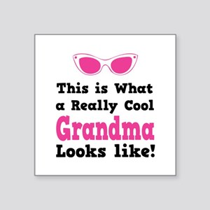This is what a really cool grandma looks like! Squ