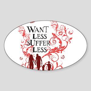 want_less_vine_family_pink_white Sticker