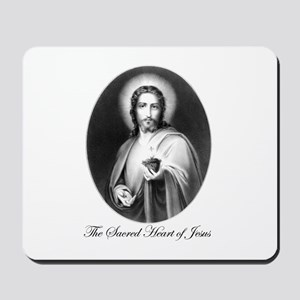 The Sacred Heart of Jesus Mousepad