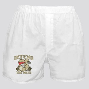 Defend the NUTS! Boxer Shorts