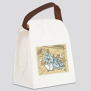Kitsune Lovers Canvas Lunch Bag