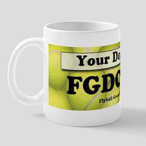 FGDCh 90K Flyball Grand Champion 90K Mug