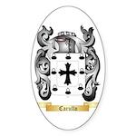 Carullo Sticker (Oval)