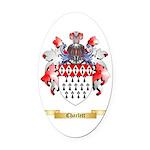 Charlett Oval Car Magnet