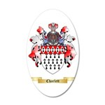 Charlett 35x21 Oval Wall Decal