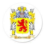 Charleton Round Car Magnet