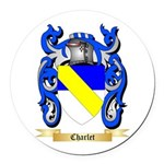Charlet Round Car Magnet