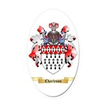 Charleson Oval Car Magnet