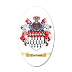 Charleson 20x12 Oval Wall Decal