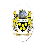 Chardonniere Oval Car Magnet
