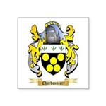 Chardonniere Square Sticker 3