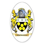 Chardonniere Sticker (Oval 50 pk)