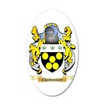 Chardonniere 20x12 Oval Wall Decal