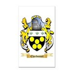 Chardonnet Rectangle Car Magnet