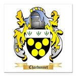 Chardonnet Square Car Magnet 3