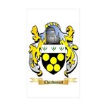 Chardonnet Sticker (Rectangle 10 pk)