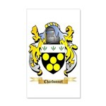 Chardonnet 20x12 Wall Decal