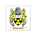 Chardonnel Square Sticker 3