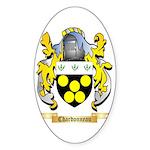 Chardonneau Sticker (Oval 50 pk)