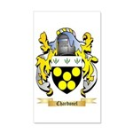 Chardonel 35x21 Wall Decal