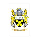 Chardon Sticker (Rectangle 50 pk)