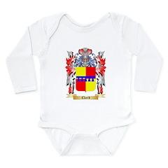 Chard Long Sleeve Infant Bodysuit