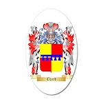 Chard 35x21 Oval Wall Decal